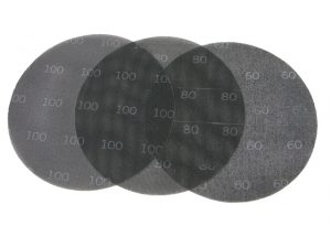 Abrasive disks for scraping